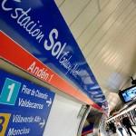 La estación Sol del Metro de Madrid ahora se llama Sol Galaxy Note!