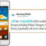 Samsung Galaxy S2 se actualiza a Ice Cream Sandwich