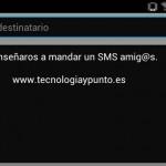 Cómo enviar un SMS a móviles