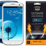 Protector de pantalla Buff que absorbe impactos para Samsung Galaxy S3, S4, iphone 4, 5 y 6