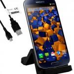 Base de carga y sincronización para Samsung Galaxy S3, S4, S5
