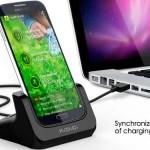 Base de carga y sincronización para Samsung Galaxy S IV