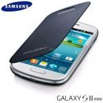 Carcasa trasera con tapa Flip Cover para Samsung Galaxy S III Mini