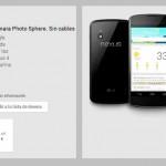 Rebaja de 100 euros en Google Nexus 4