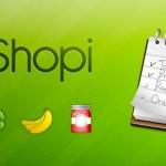 Crea tu lista de la compra en tu Smartphone con Myshopi
