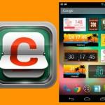 Widget de cuenta atrás para Android