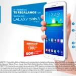 Regalo Samsung Galaxy Tab 3 de 7 pulgadas al comprar Samsung Galaxy S 4